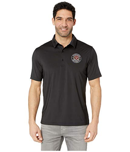 (Champion College Men's Harvard Crimson Solid Polo Black Large)