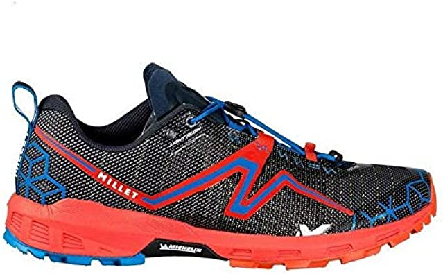 Millet Light Rush, Zapatillas de Trail Running para Hombre, Multicolor (Orange/Electric Blue 000), 40 2/3 EU: Amazon.es: Zapatos y complementos