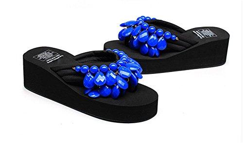 Soltar Playa Mujeres Espeso Las Hecha De Espina Mano 4 Pendiente Arrastrar Único A Zapatillas Verano Con Cuentas Arenque Y Creativa Zapatos I1xvanwqxB