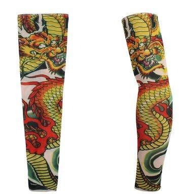 Kaka (TM) falso tatuaje temporal brazo Cover Up mangas body art ...