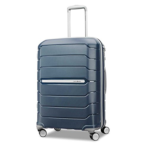Lock Luggage Samsonite (Samsonite Checked-Medium, Navy)
