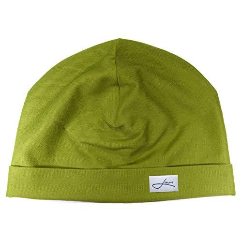 Lou-i Baumwollmütze Made in Germany - Beanie Wintermütze für Damen und Herren - Größenauswahl für eine perfekte Passform - Sehr leichte & weiche Mütze