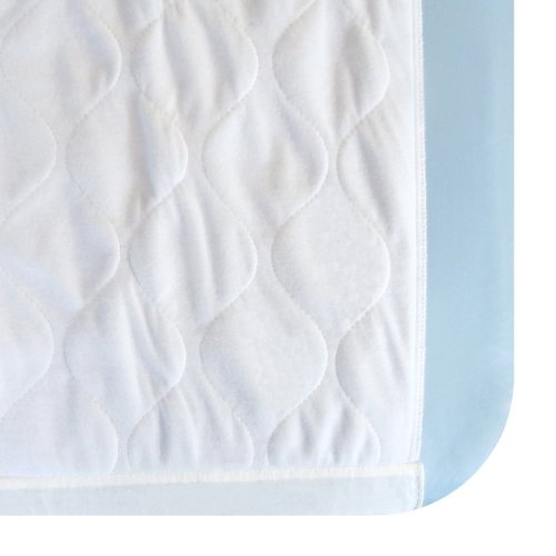 Washable Waterproof Mattress Sheet Protector Bed Extra Large Underpad - 36in x 70in with Tuck-in Tails by Dry Defender (Image #7)