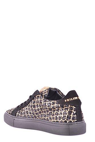 Donne Plein Philipp Mcbi237007o Sneakers In Camoscio Nero