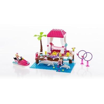 Mega Bloks Barbie Tropical Resort: Toys & Games