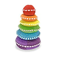 Melissa & Doug Soft Rainbow Stacker Educational Toy