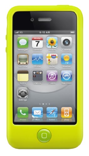 Silicone Case Switcheasy (SwitchEasy Colors Silicone Case for iPhone 4 & 4S - Lime)