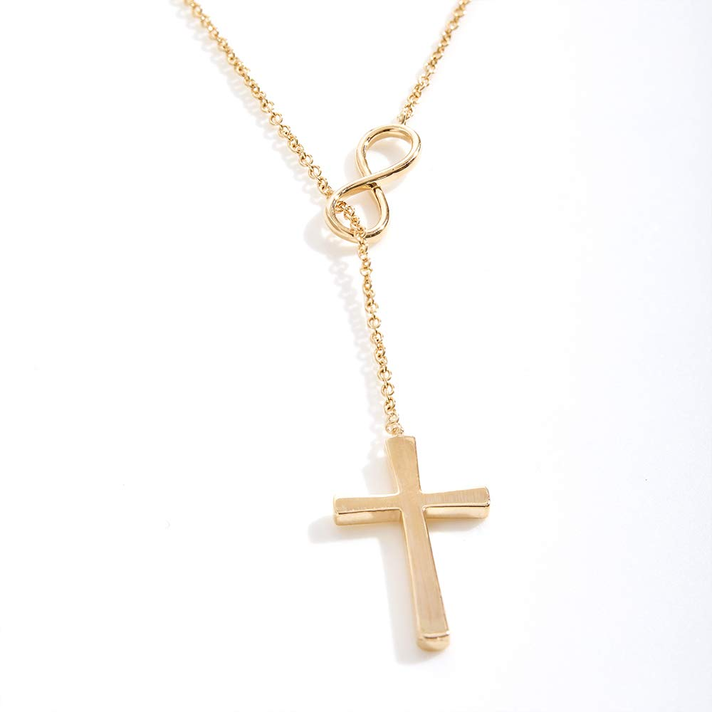 Girl Daughter Dear Ava Birthday Gifts for Girls: Birthday Present Necklace Infinity Cross Teen
