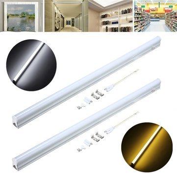 Led Light Bulbs - 56.8cm 9w 800lm Smd2835 T5 Led Fluorescent Tube LightSwitch Ac85-265v - Led Fluorescent Tube Light Adapter - 1PCs