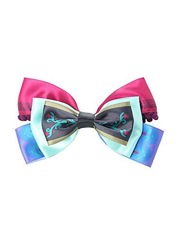 Princess Anna Hair Bow, Disney Frozen, Ideal Cosplay Spring and Summer Beauty Hair Product. Let it Go with this Well Made Accessory, Perfect for Braids, Long Hair and Thick Hair
