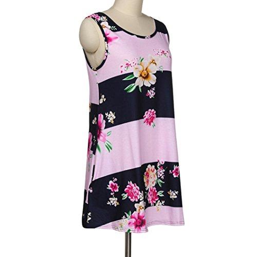 Kleid Damen SommerCocktail Kleider Damen ElegantWINWINTOM Damen O ...