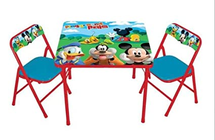 Amazon Com Activity Table Set Mickey Mouse Club House