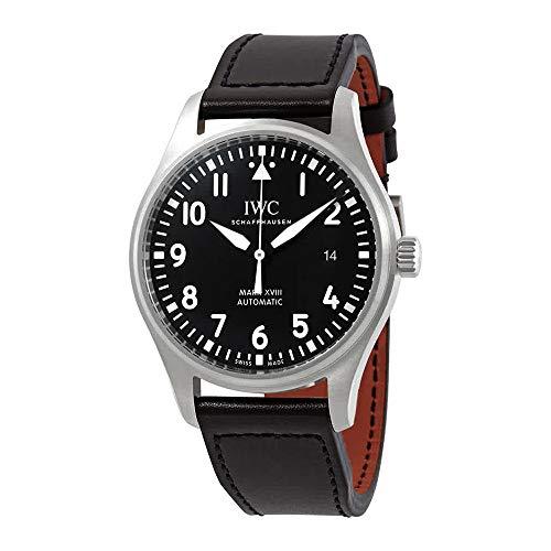 (IWC Pilot's Mark XVIII Automatic Black Dial Men's Watch IW327009)