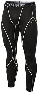 Tesla TM-YUP33-KLG_Large Men's Thermal Wintergear Compression Baselayer Pants Leggings Tights YUP33