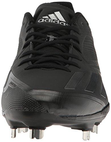 Scarpa Da Baseball Adidas Mens Freak X Carbon Mid Nero / Ferro Neo Met. Neo Ferro Incontrato. Tessuto