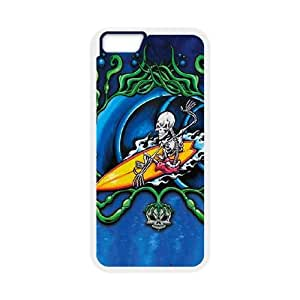 iPhone 6 Plus 5.5 Inch Cell Phone Case White Tube Rider VIU108459
