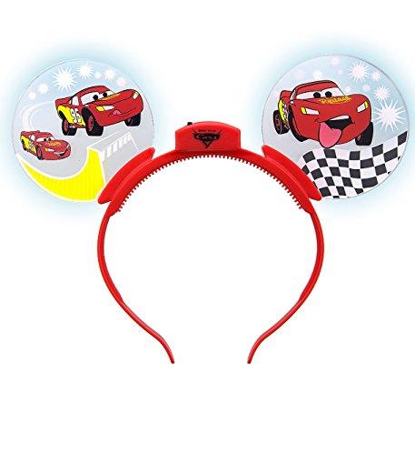 Disney Parks Cars Light Up Mickey Mouse Ears Headband]()