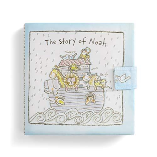 Noah's Ark Fabric (DEMDACO The Story of Noah Sky Blue 7 x 7 Fabric Children's Basic Soft Book)