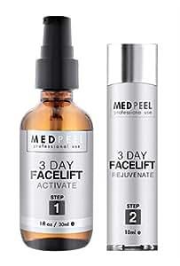 Med Peel 3-Day Facelift Kit (Activate and Rejuvenate) - (2 Piece Set)