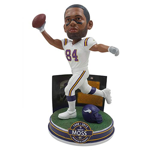 NFL Career Stats Bobbleheads Randy Moss (Minnesota Vikings) by ()