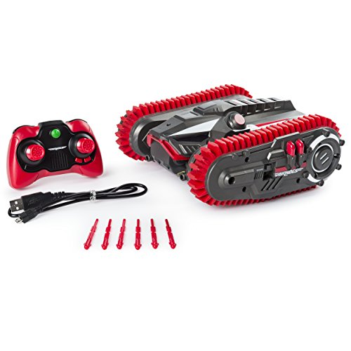 Air Hogs Robo Trax All-Terrain RC Tank with Robot Transformation, Frustration Free Packaging ()