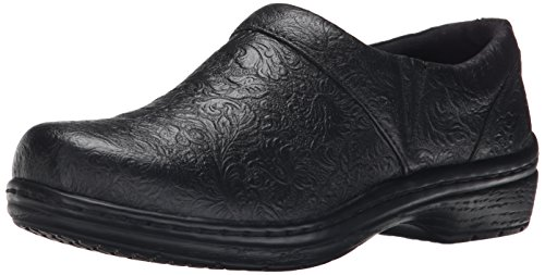 Klogs USA Women's Mission, Black Tooled, 9 M US