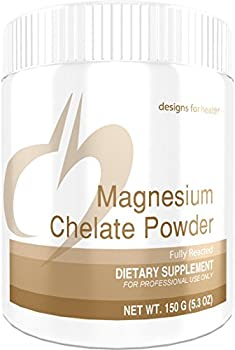 Designs for Health - Magnesium Chelate Powder - 300mg TRAACS Magnesium Bisglycinate for Sensitive Stomachs, 150 Grams