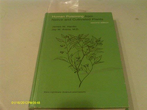Human Poisoning from Native and Cultivated Plants