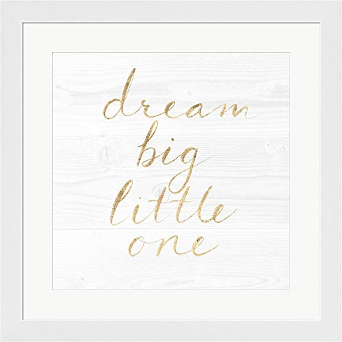 Sweet Dreams VIII by Victoria Borges Framed Art Print Wall Picture, White Flat Frame, 20 x 20 inches