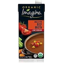 Imagine Organic Low-Sodium Grass Fed Beef Broth, 32 oz.