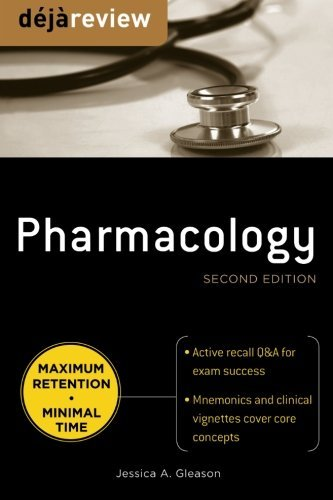 Deja Review Pharmacology, Second Edition by Jessica Gleason (2010-07-01)
