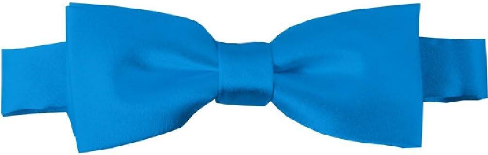 NYfashion101 Boys Solid Color Adjustable Pre-Tied Bow Ties Cinnamon