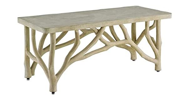 Awesome Amazon Com Currey Company Table Bench Creekside Portland Bralicious Painted Fabric Chair Ideas Braliciousco