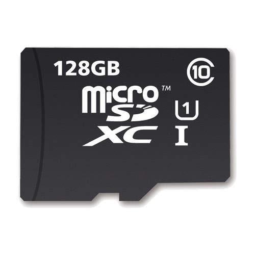 Micro Sd Memory Card 128GB TF SDXC + Adaptador