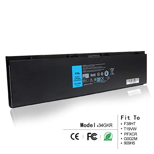 - LQM 7.4V 47Wh New Laptop Battery for Dell Latitude E7420 E7440 E225846,Compatible P/N: 34GKR F38HT T19VW PFXCR G0G2M 909H5
