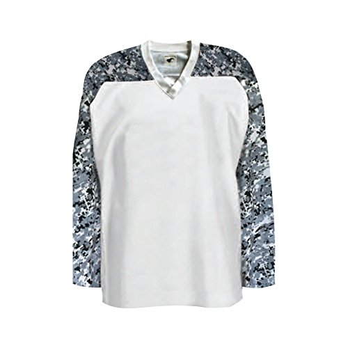 Pearsox Air Mesh Hockey Jersey (XL, Camo White)