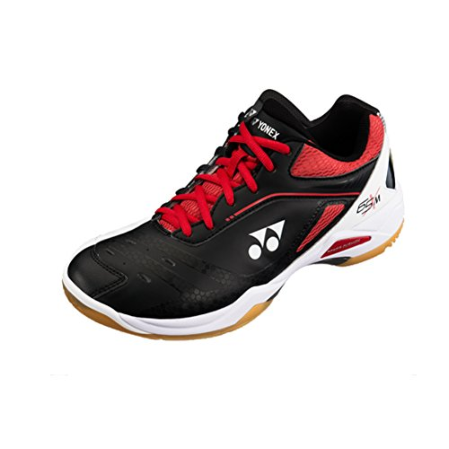 Badminton Shoes Yonex (Yonex Power Cushion 65 X Mens Indoor Shoe (Black/Red))