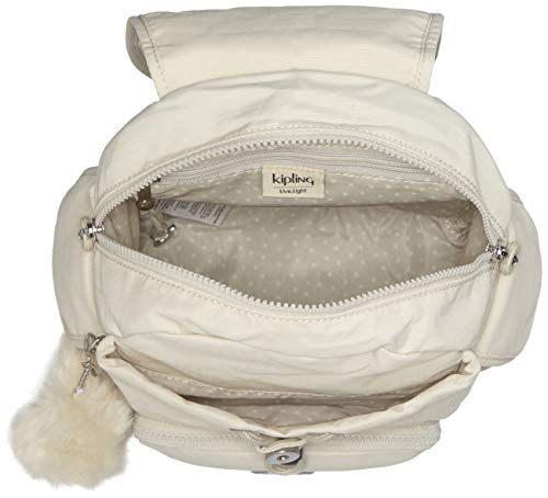 Mini dazz Zaini Bianco Donna White City Pack Kipling B4q7FF