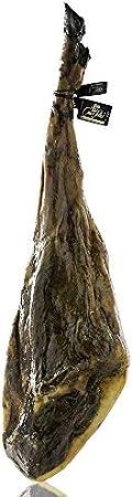 Jamón Ibérico de Bellota Cinco Soles. 100% Iberico. Curación entre 48 y 54 meses. Peso 7,5 Kg. aprox. Certificado de autenticidad.