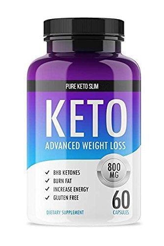 Pure Keto Slim Exogenous Ketones- Burn Fat! - Lose Weight! Induce Ketosis with This Purely Crafted Keto Diet Supplement. Made with The Purest Ingredients to give You Accelerated Keto Trim Results!