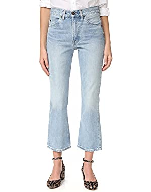 Women's 517 Cropped Boot Cut Jeans