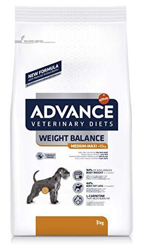 ADVANCE Veterinary Diets Weight Balance Medium/Maxi – Pienso Para Perros Adultos Con Problemas De Sobrepeso De Razas…