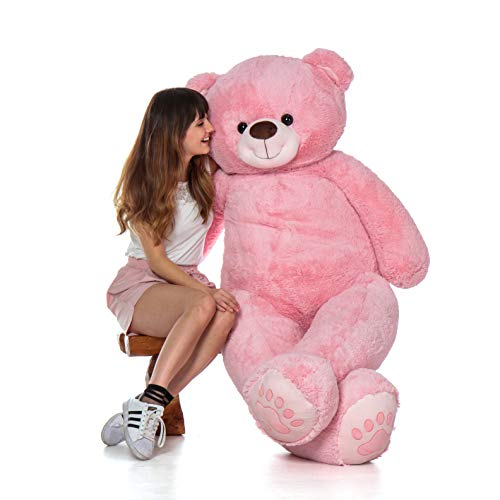 Giant Teddy Brand - Premium Quality Giant Stuffed Teddy Bear (Cotton Candy Pink, 6 Foot)