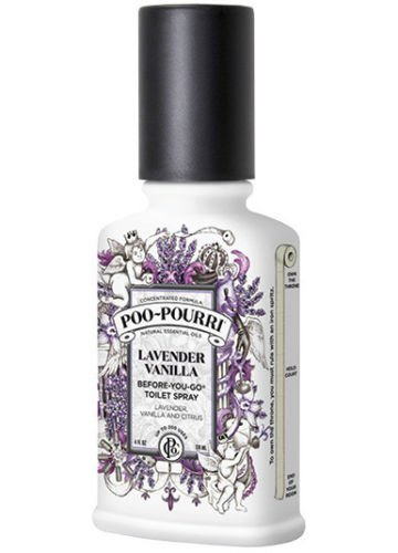 can you spray poo pourri in the air