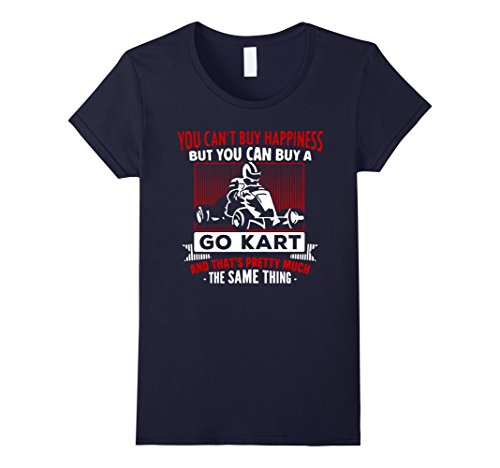 Women's Happiness GoKart Shirt GoCart Go Kart Cart Drivin...