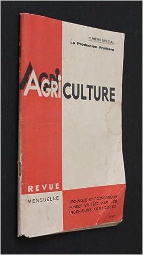 Livres gratuits Agriculture, numéro spécial n°87 : La production fruitière epub pdf