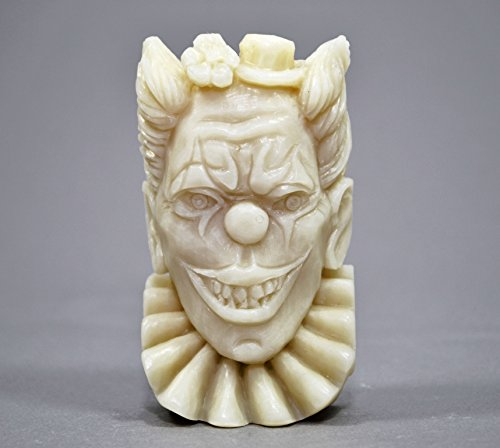 Clown Silicone Mold SOAP Plaster Wax Resin Clay -