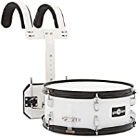 "14"" X 5.5"" Marching Snare Drum with Carrier by Gear4music"