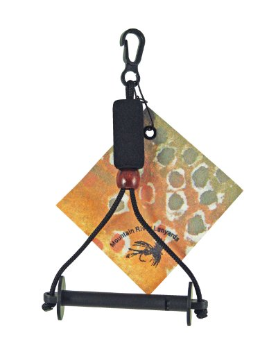Mountain River Lanyards Horizontal Tippet Carrier, Outdoor Stuffs