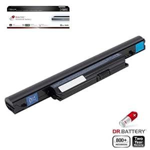 Dr Battery Advanced Pro Series batería de repuesto para portátiles Acer Aspire 4820TG-334G50Mn (4400mah / 48wh) 800 ciclos de recarga 2 año de garantía.